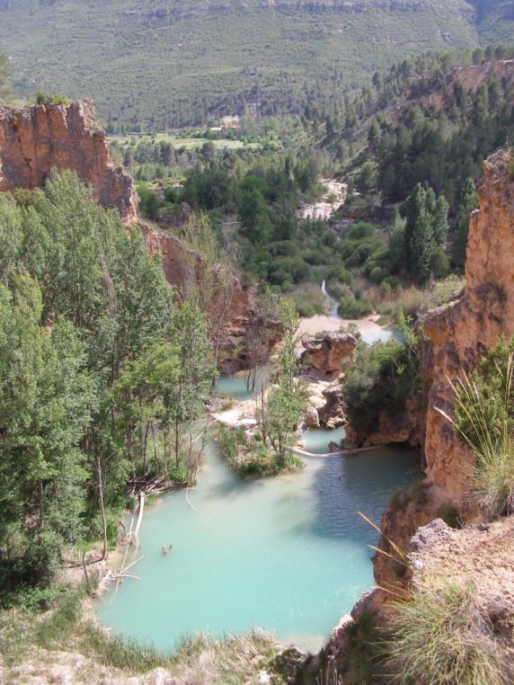 Las mejores aguas termales en espa a aguafria - Piscinas naturales la rioja ...