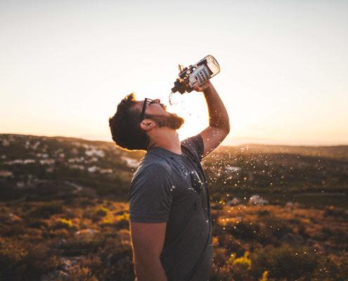 Aparición de la sed
